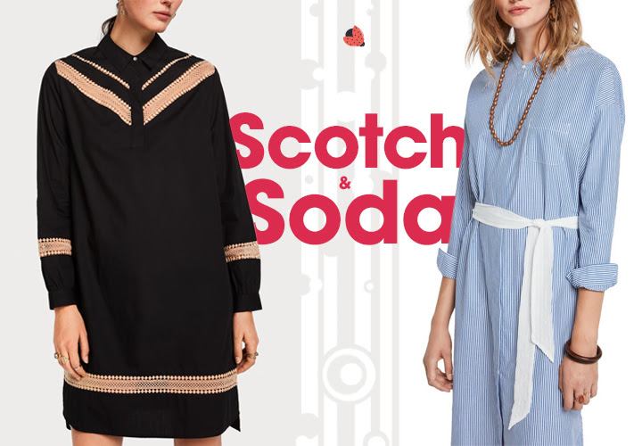 női ruha Scotch & Soda