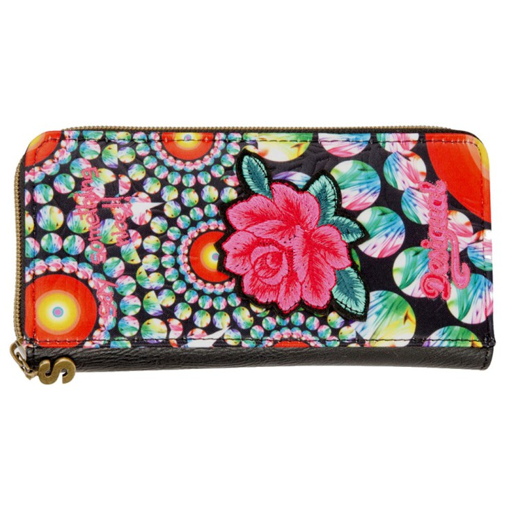 Desigual Zip Around Wallet Amanecer