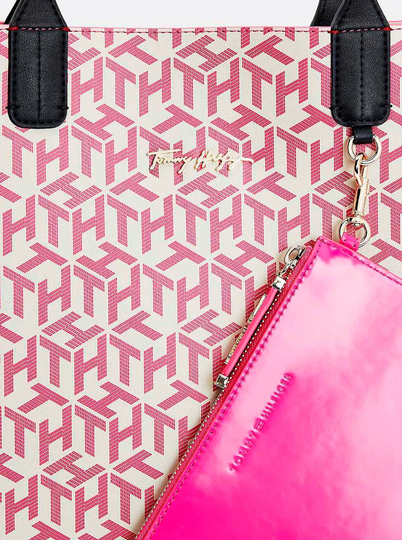 Tommy Hilfiger rózsaszín nagy kézitáska