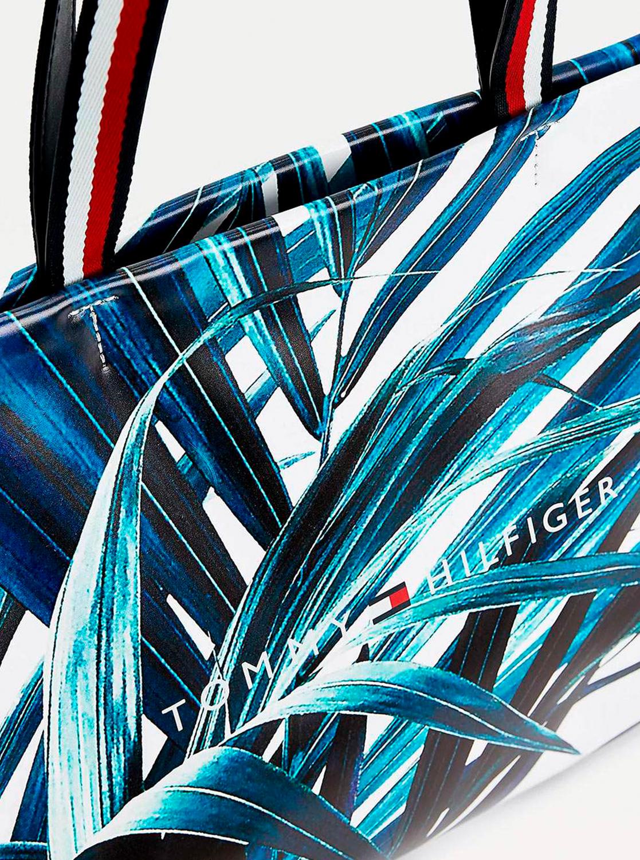 Tommy Hilfiger nagy kék-fehér kézitáska