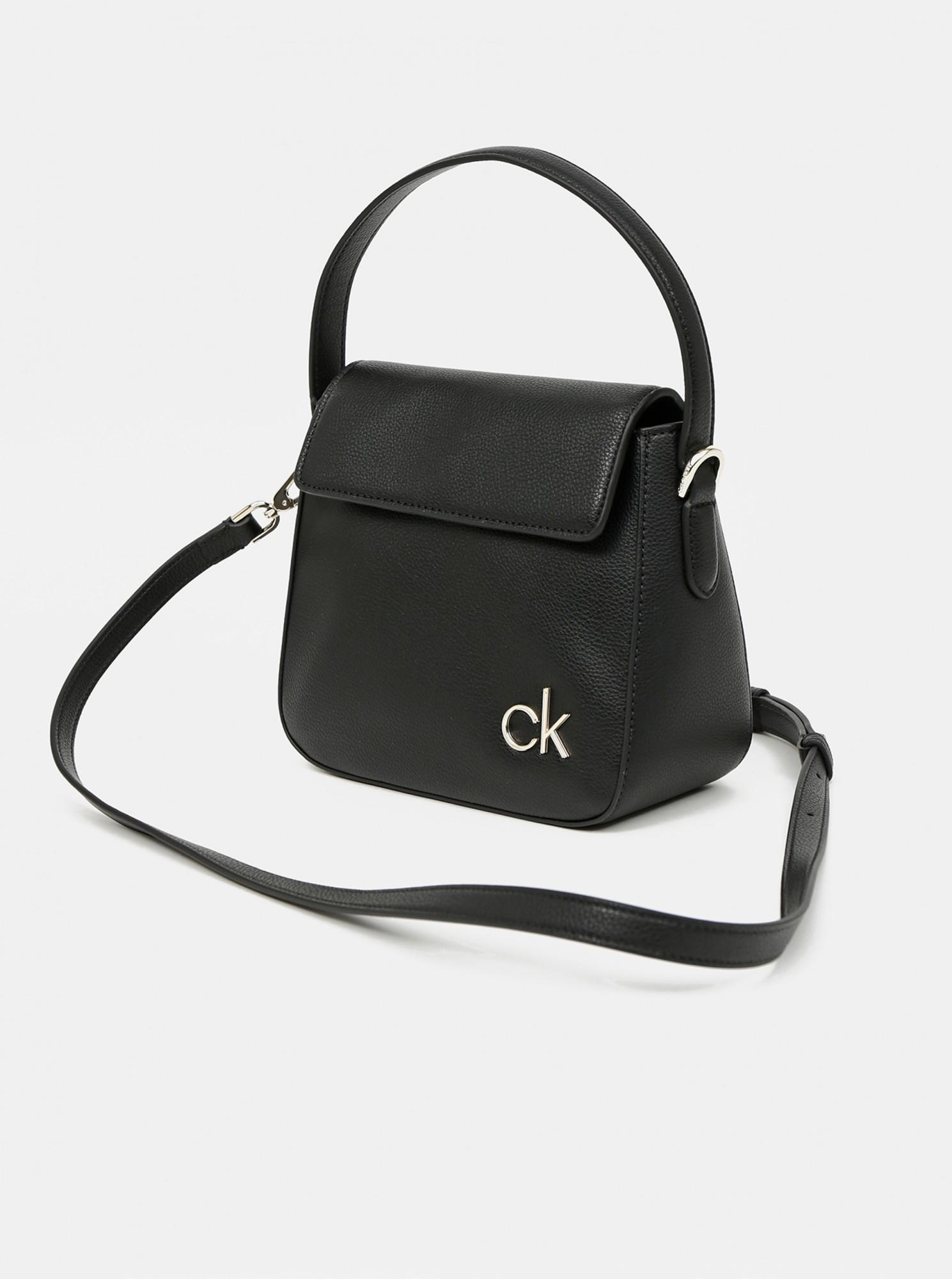 Calvin Klein fekete kézitáska Hobo W/Flap