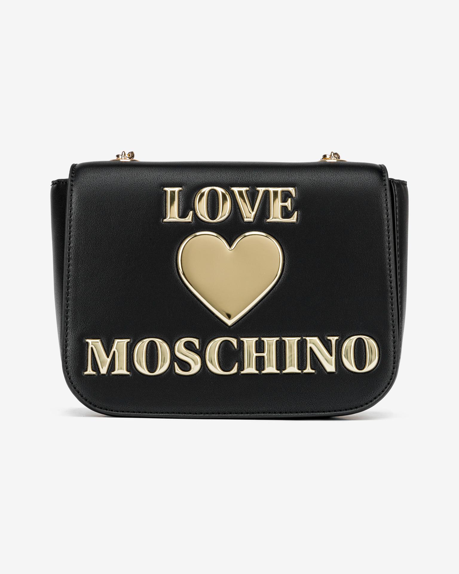 Love Moschino fekete crossbody kézitáska