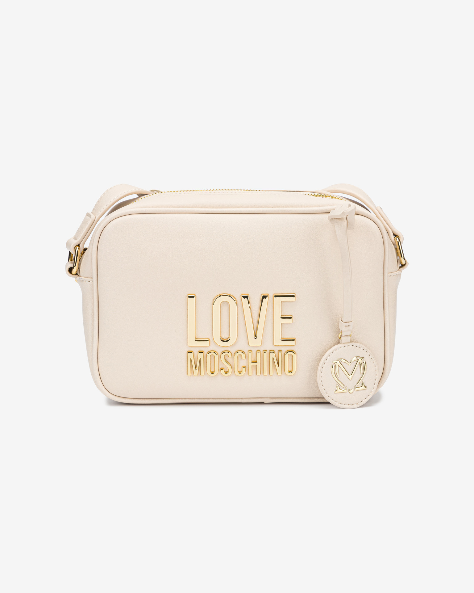 Love Moschino fehér crossbody kézitáska