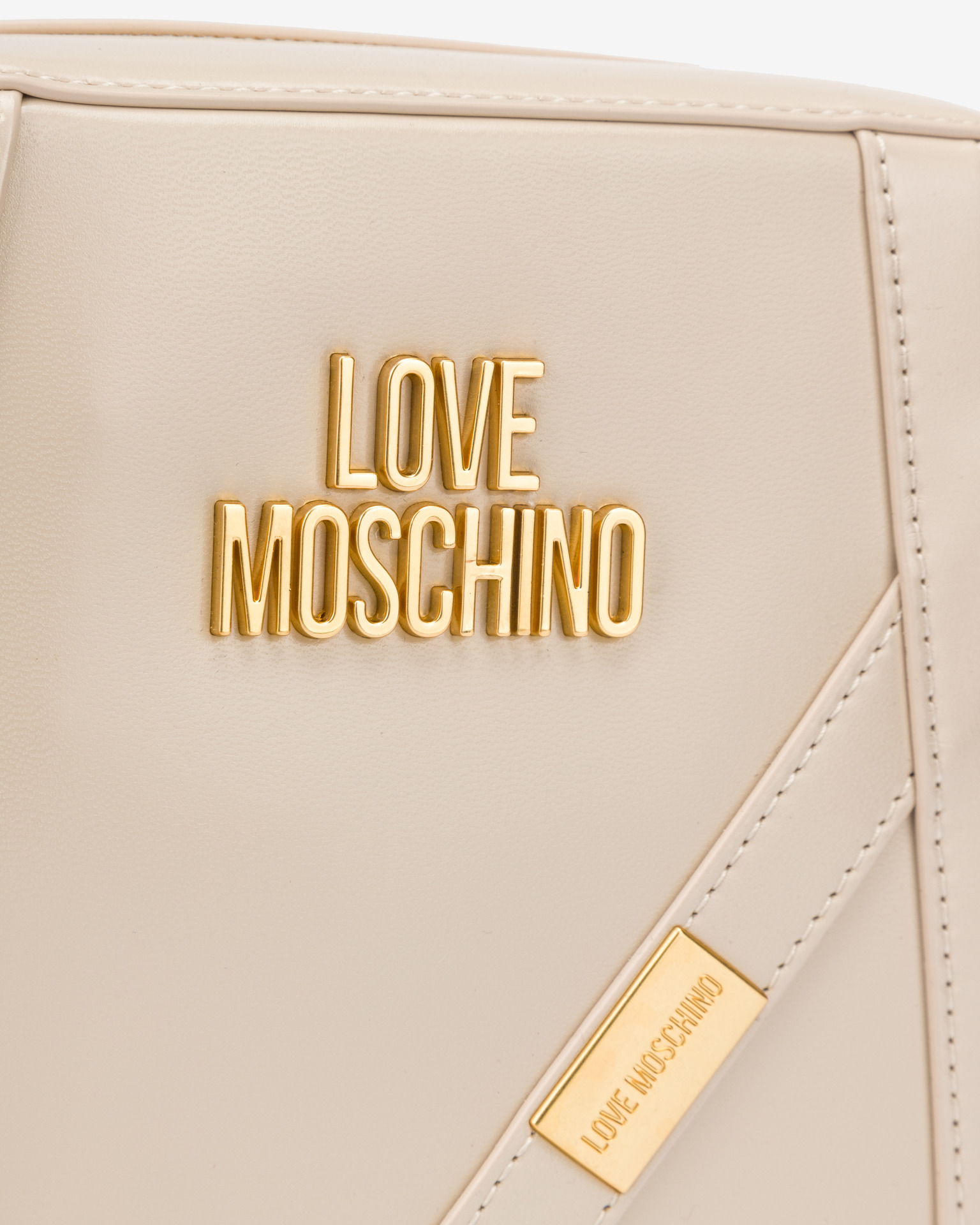 Love Moschino bézs crossbody kézitáska