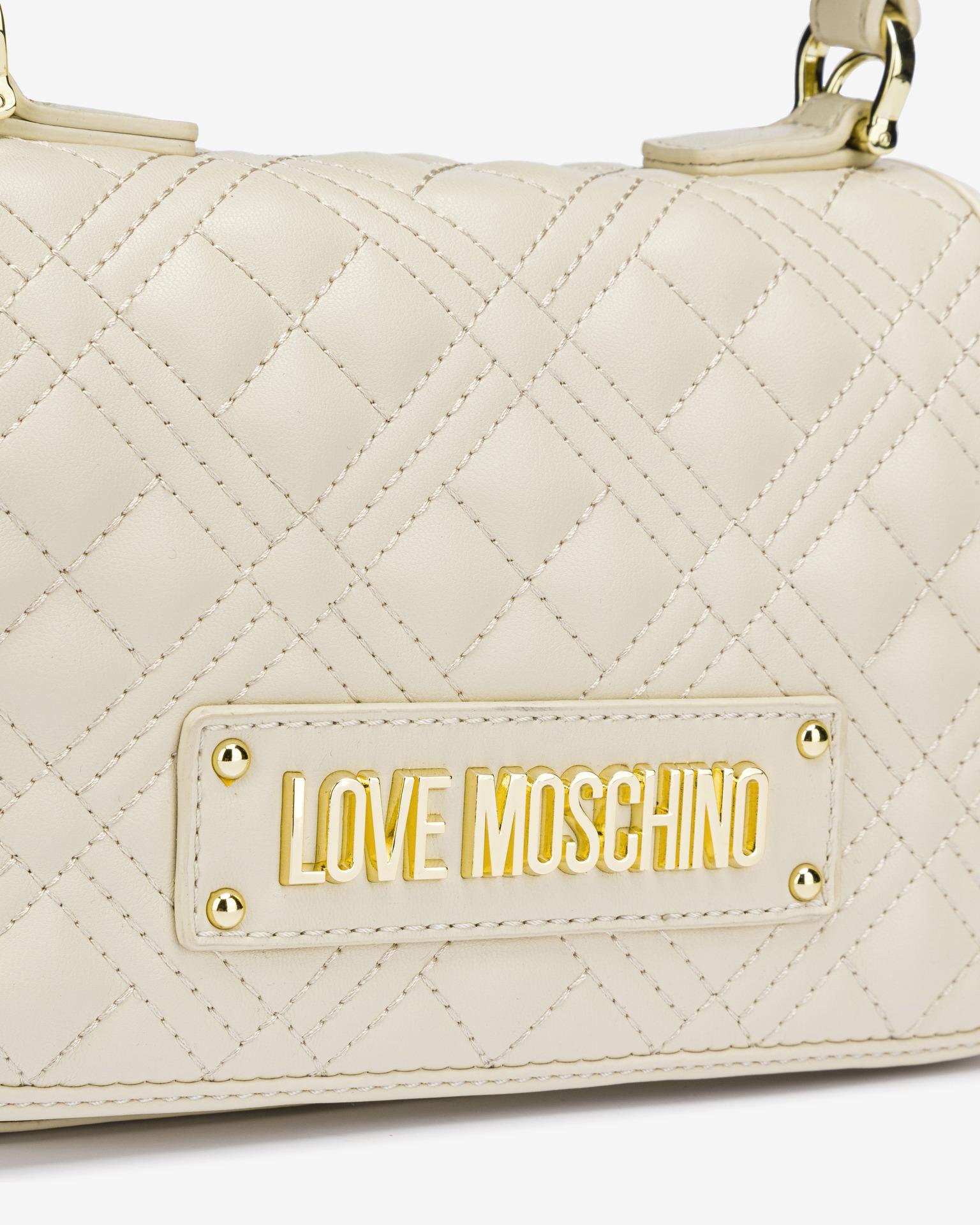 Love Moschino bézs kézitáska