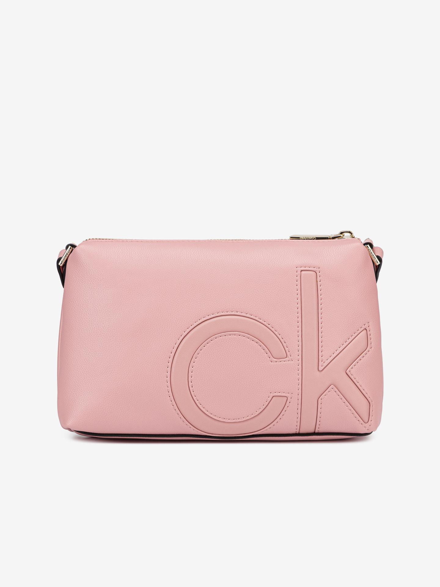 Calvin Klein rózsaszín  crossbody táska