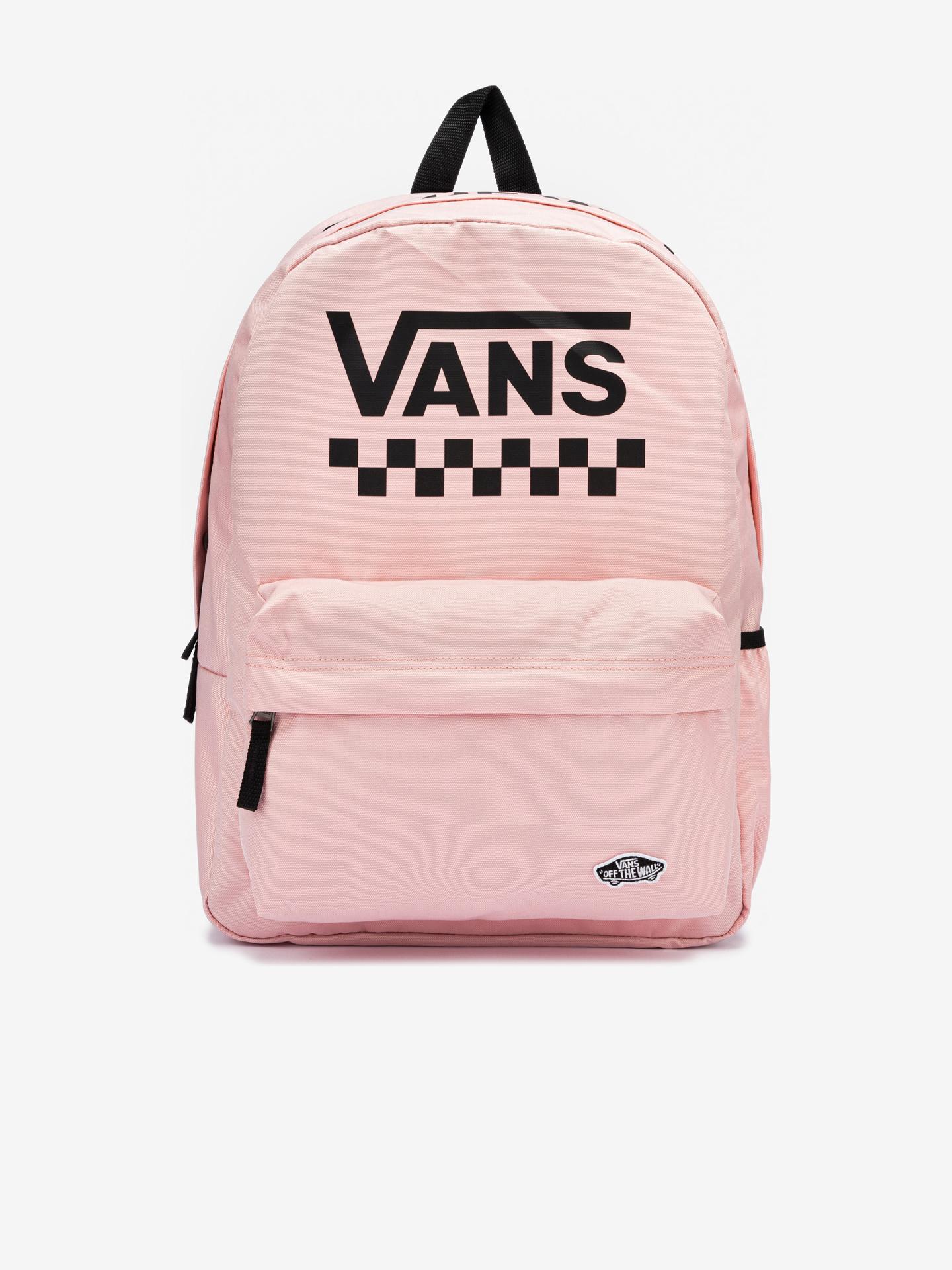 Vans rózsaszín  hátizsák Street Sport Real