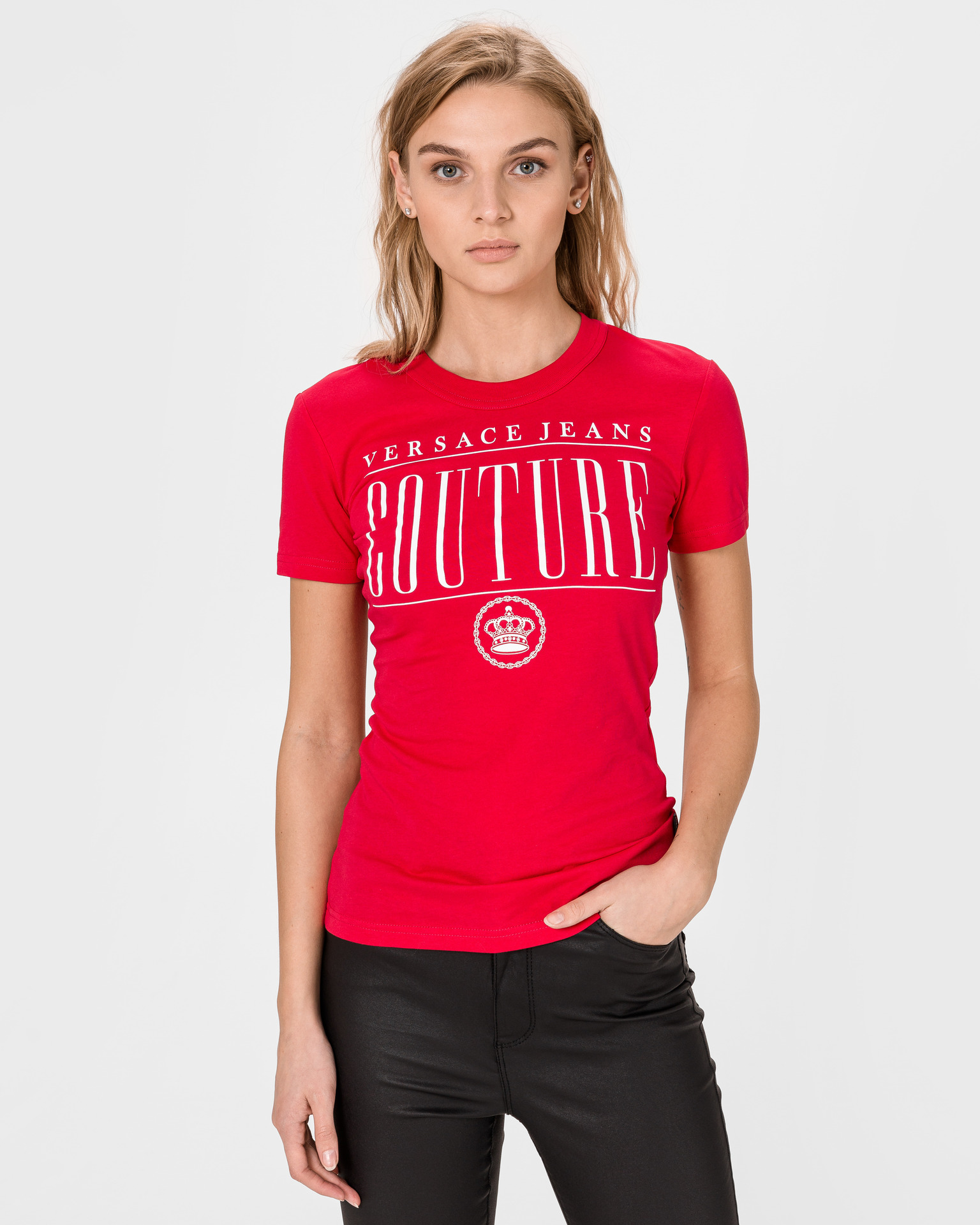 Versace Jeans Couture Póló Piros