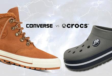 Eladó és Clash of the Titans nagy - Converse és Crocs!