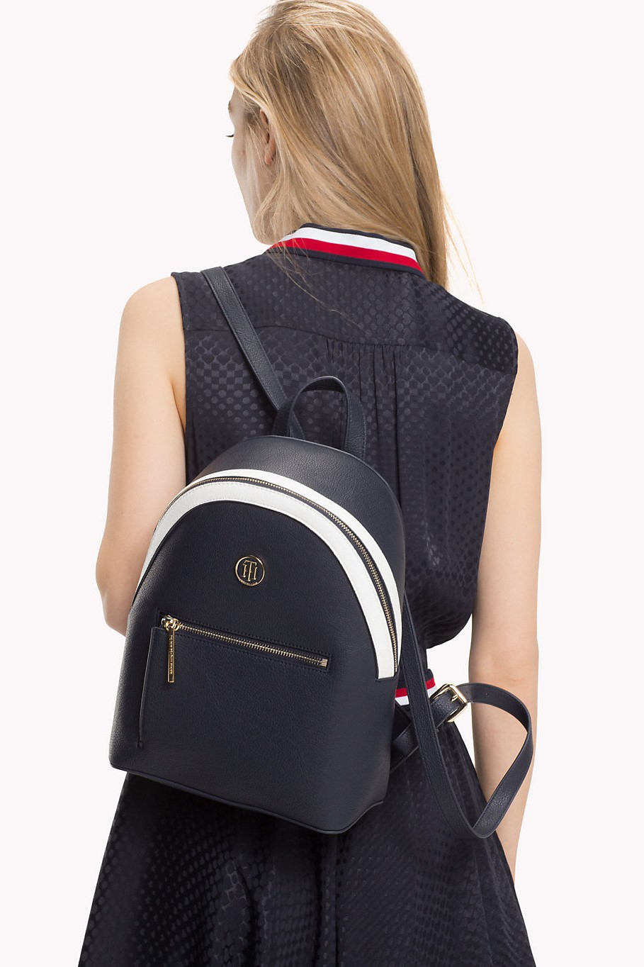2dc985231a Tommy Hilfiger sötétkék hátizsák TH Core Mini Backpack - Női ...