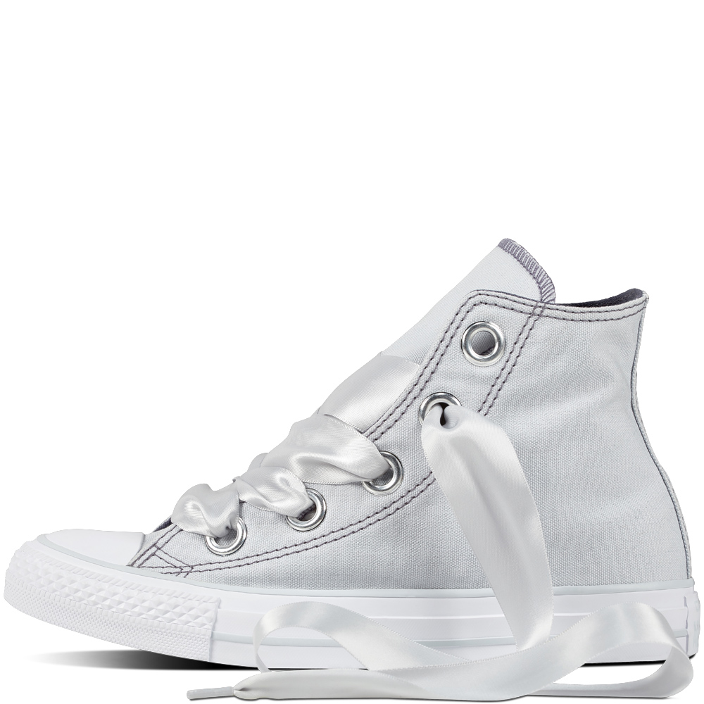 Converse világosszürke tornacipő Chuck Taylor All Star Big Eyelets Hi Pure  Platinum Light Carbon 314ecff69d