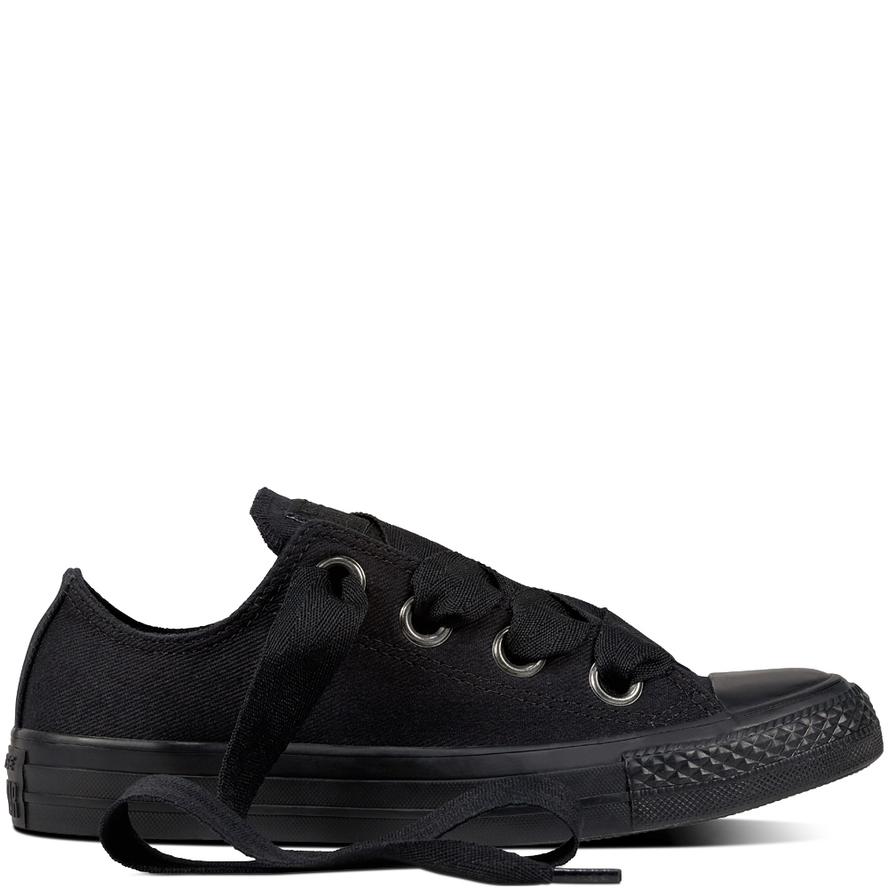 Converse fekete tornacipô Chuck Taylor All Star As Big Eylets Black ... 53a4f66f94