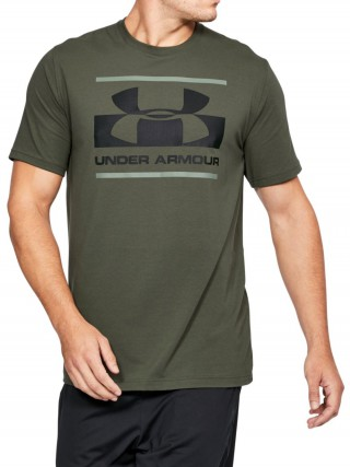 Under Armour khaki férfi póló Blocked Sportstyle Logo 9780861b15