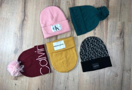 Téli sapkák a Calvin Klein márkától