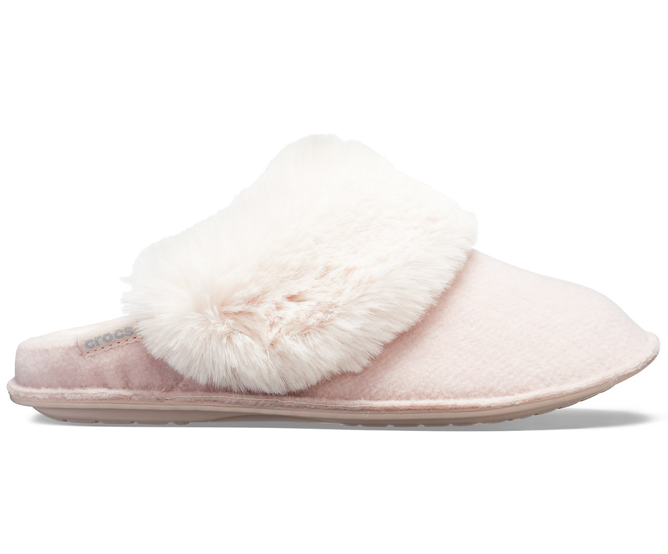 Crocs otthoni púder papucs Classic Luxe Slipper Rose Dust - Női Cipők ♥  Differenta.hu 86bbeccdd0