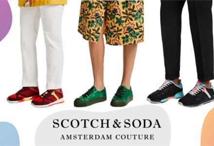 Cipők Scotch & Soda - legyünk mindketten trendik