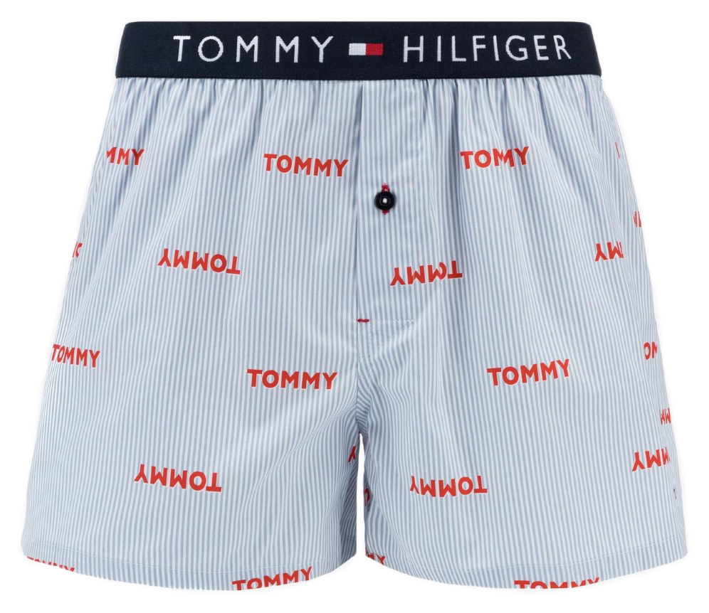 Tommy Hilfiger szines férfi boxeralsó Woven Boxer Tommy Ithaca