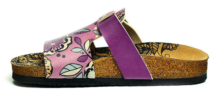 Calceo lila papucs Casual Slippers Purple