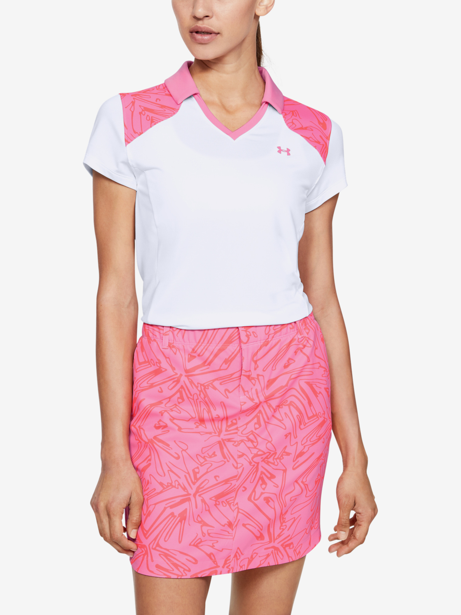 Póló Under Armour Zinger Blocked Polo