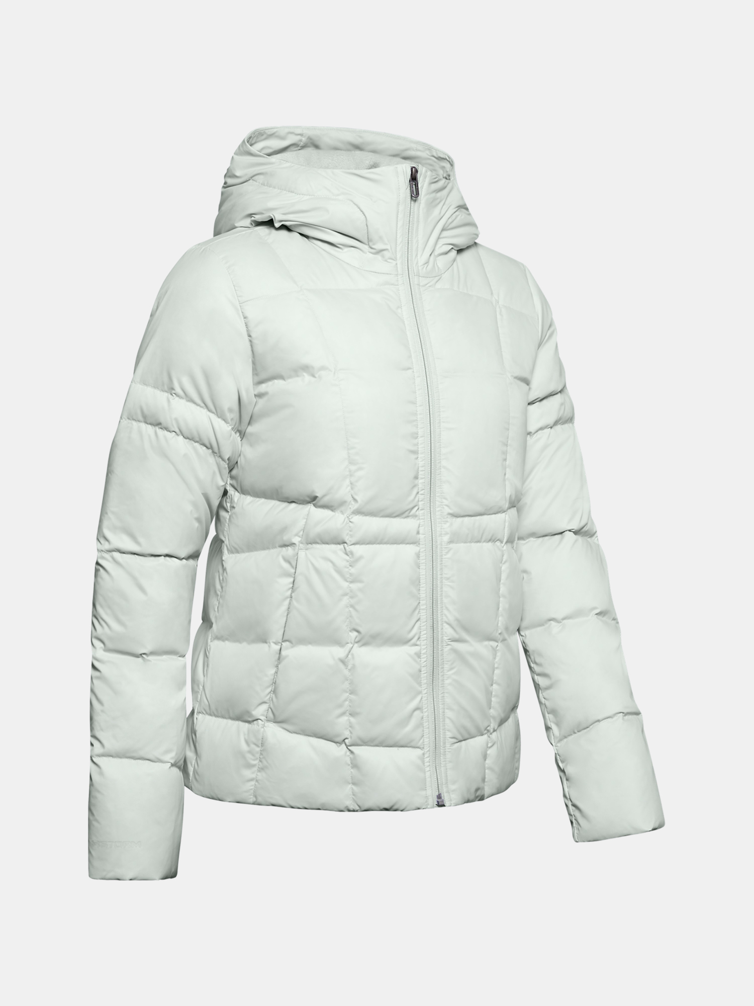 UA Armour Down Hooded Jkt-GRY