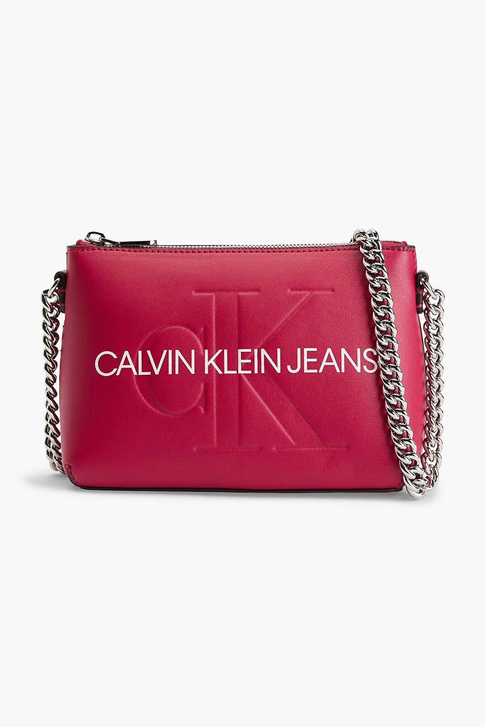 Calvin Klein fukszia crossbody kézitáska Camera Pouch
