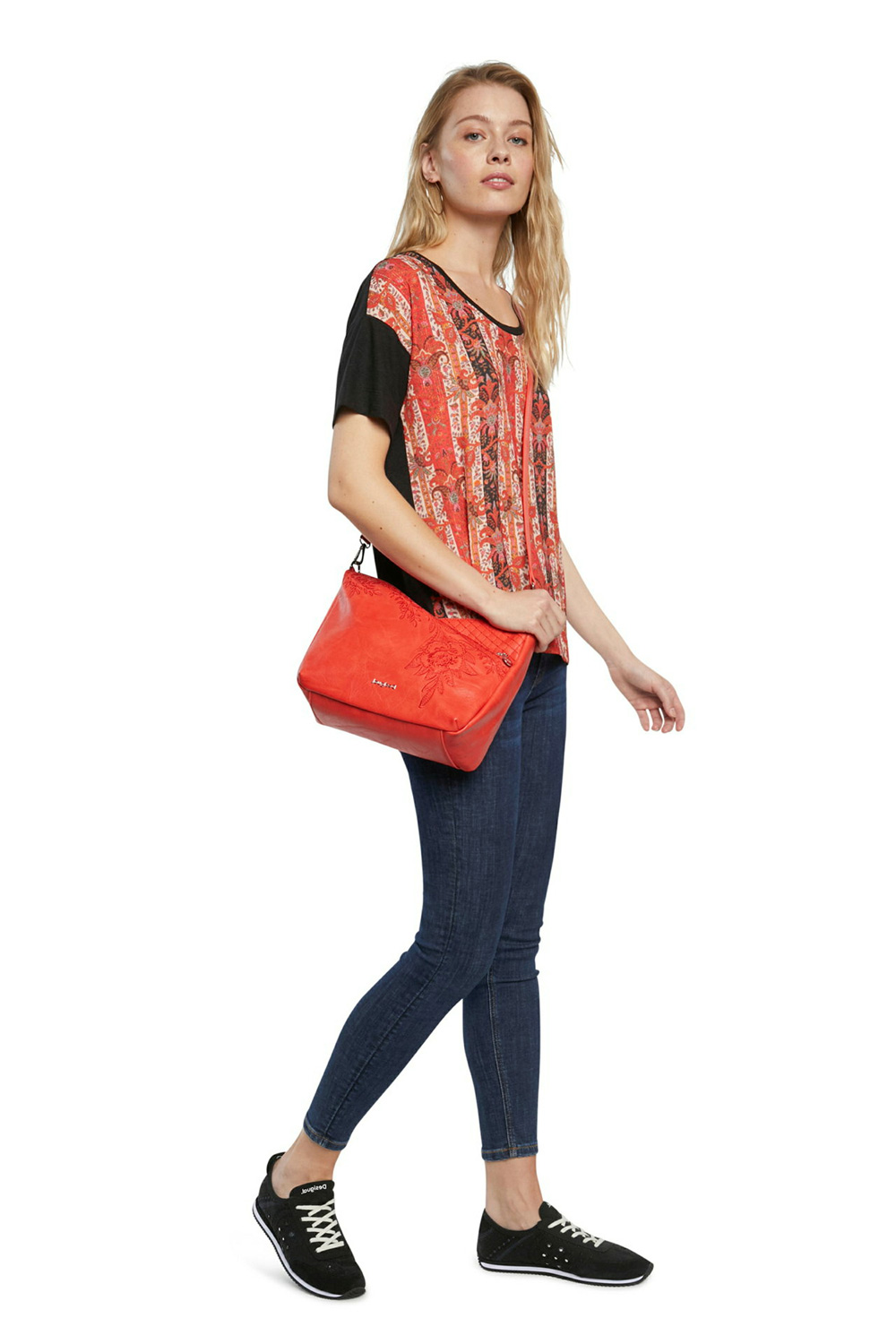 Desigual piros crossbody kézitáska Bols Lyrics Harry Mini