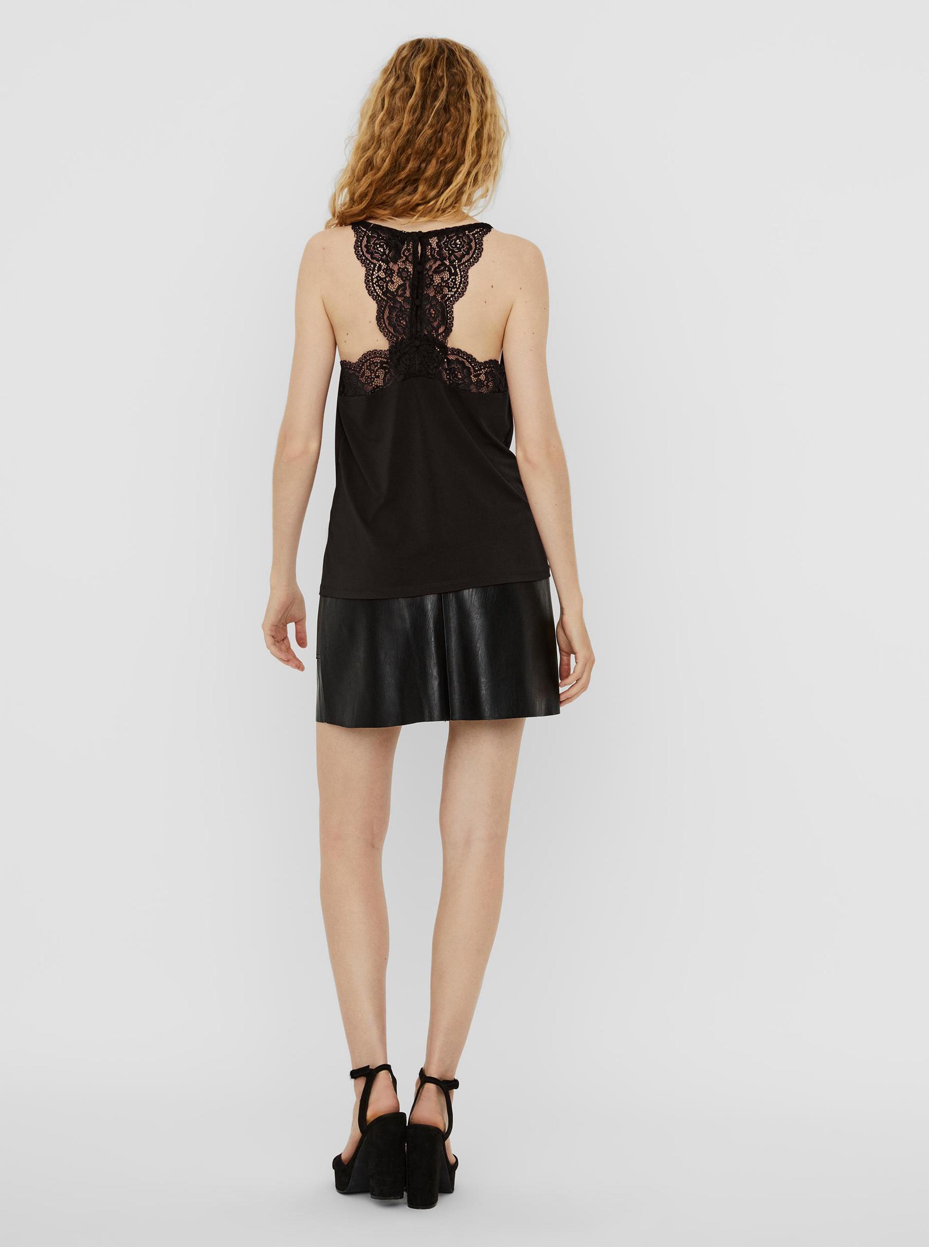 Vero Moda fekete top Ana