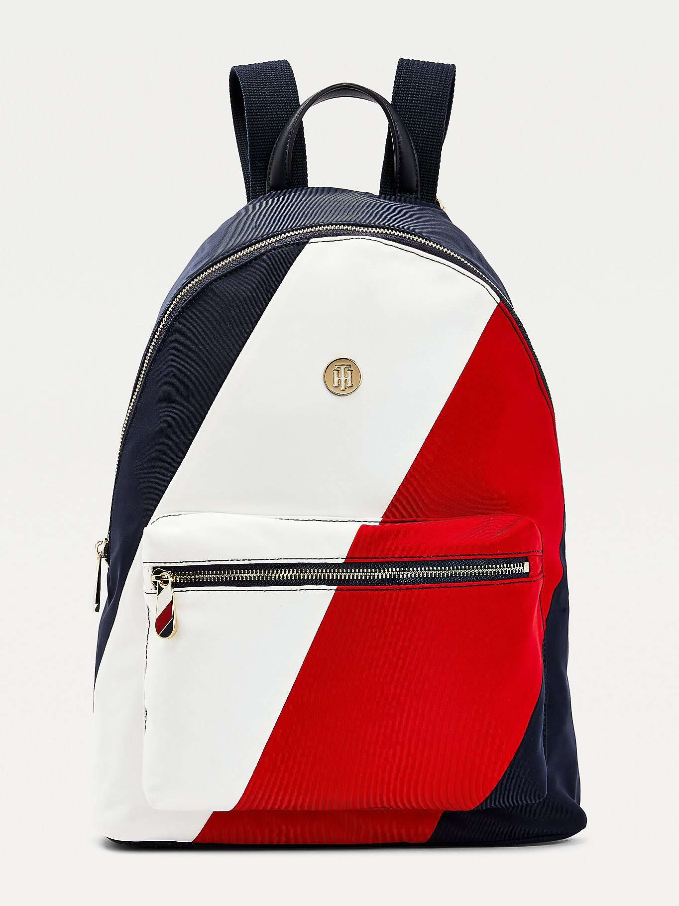Tommy Hilfiger színes hátizsák Poppy Back Pack Soft Nylon Corporate Mix