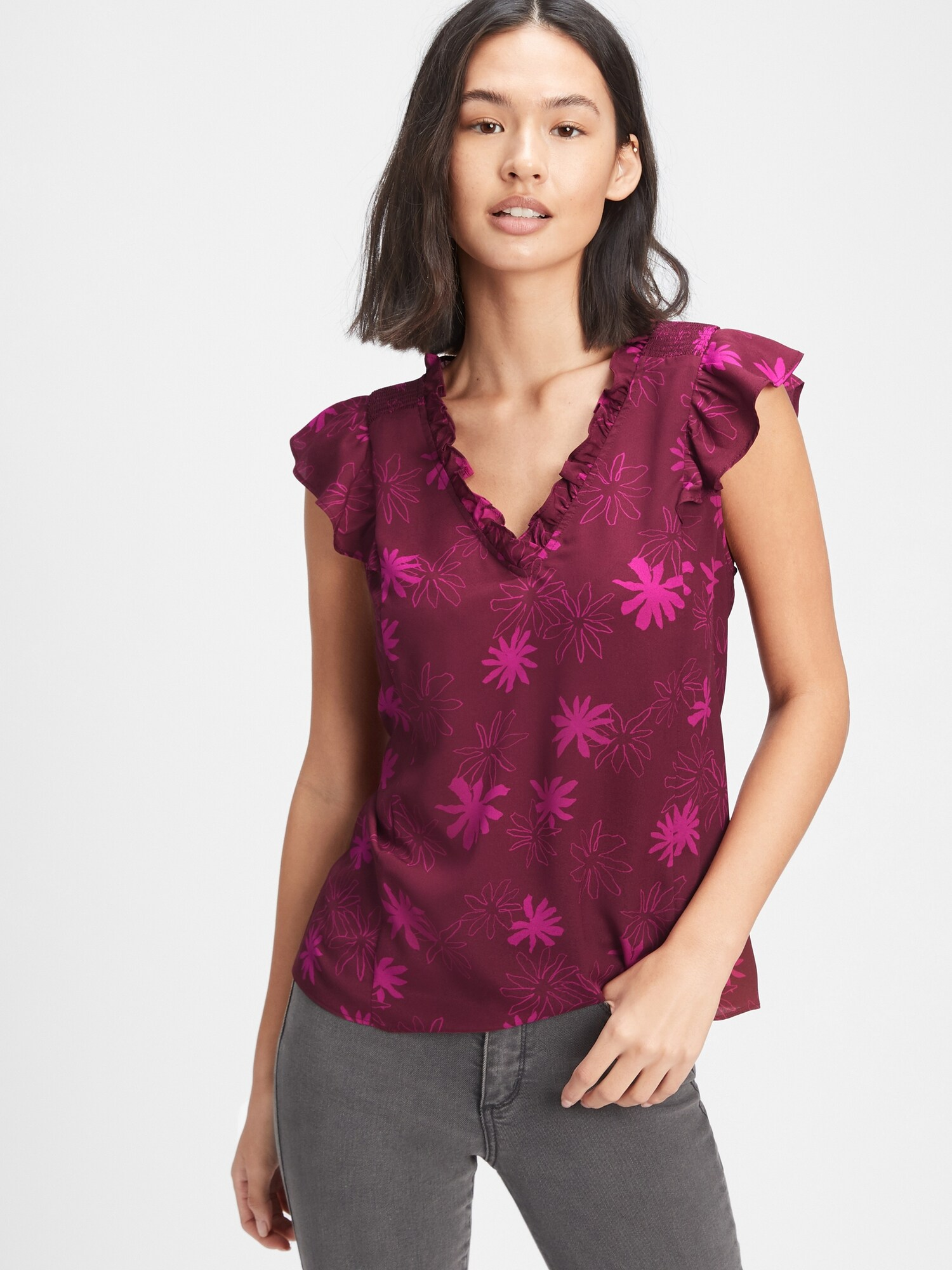 GAP lila női póló