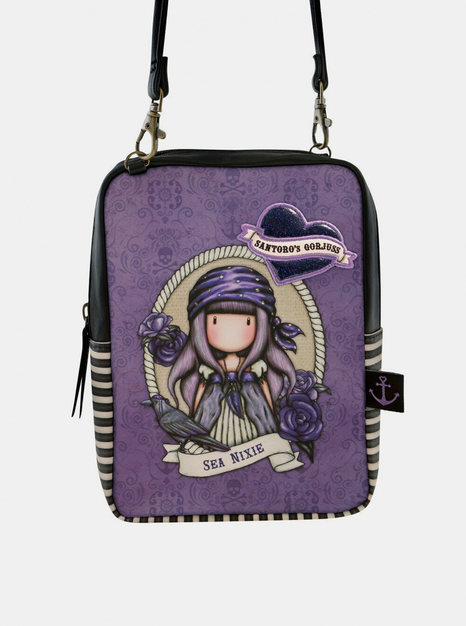 Santoro lila crossbody kézitáska Gorjuss Pirates Sea Nixie