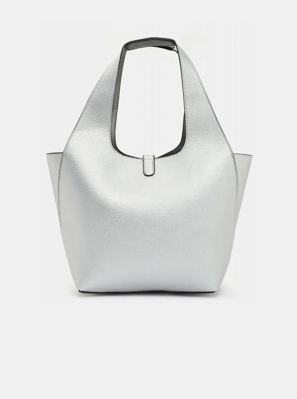 Tamaris ezüst kétoldalas shopper